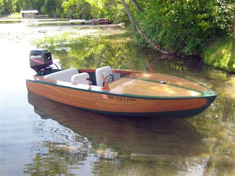 wooden runabout boat building wooden boats custom built wooden boats by red river