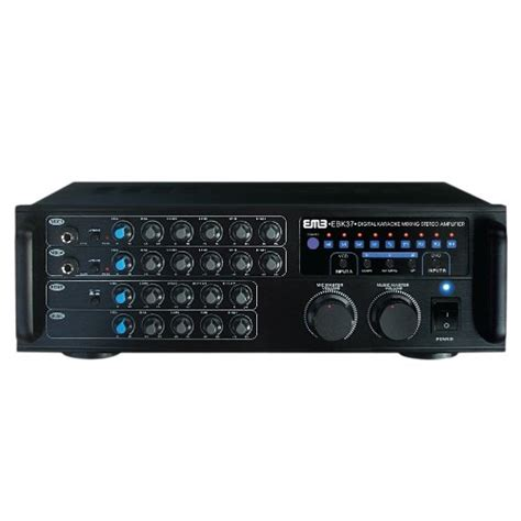 best karaoke mixer top emb pro 700 watt digital karaoke mixer stereo
