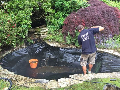 clean backyard pond pond cleaning dorsets best pond cleaning service from