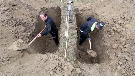 Digging On by Speedy Shovels Shine In Slovakia S Grave Digging Contest