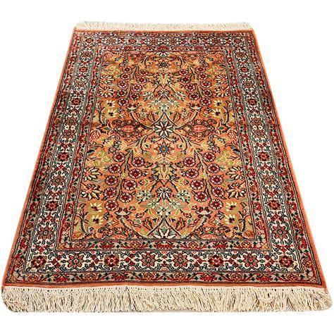 clip rug classic rugs kashmir silk exclusive 94x64cm silk rug περσικα ανατολιτικα
