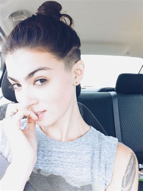 hair cuts that are shaved on both sides and long on the top for women undercut on both sides haircut 50 women s undercut
