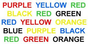 stroop color word test divided attention what it is and how to improve it