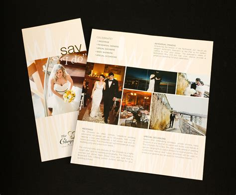 Wedding Brochure Hotel by Gba Design Branding Marketing Graphic Design