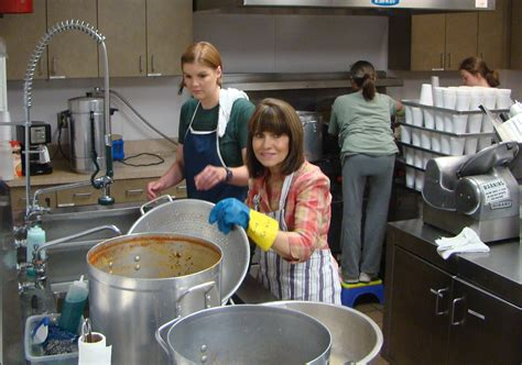 week 8 day 3 miki at st s soup kitchen volunteer odyssey
