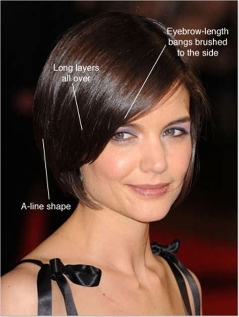 how to cut a katie holmes bob new hair styles celebrity hairstyles 2013