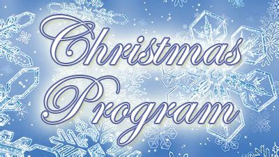 family christmas program program family church waukegan il