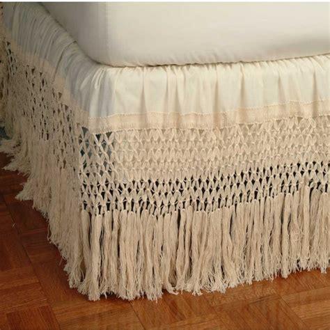 fringe bed skirt pin by teresa armistead on vintage pinterest