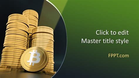 Free Cryptocurrency Bitcoin Powerpoint Template Free Powerpoint Templates Cryptocurrency Powerpoint Template