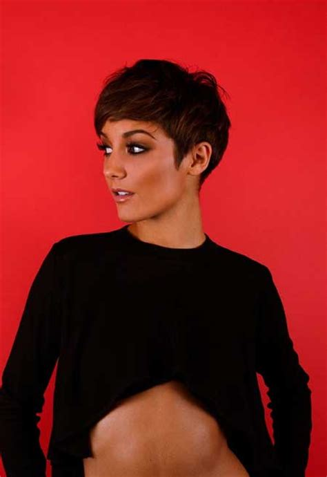 Frankie Sandford Pixie Haircut | latest celebrity short hairstyles 2014 short hairstyles