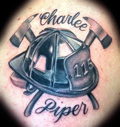 firefighter helmet tattoos images tattoo ideas
