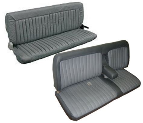 how to upholstery 88 95 chevy full size truck extended and double cab seat