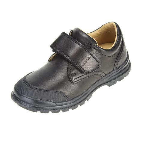 school shoe geox william boys black school shoe ebay