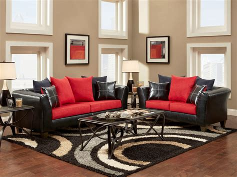 living room red red living room decorating ideas incredible red and black