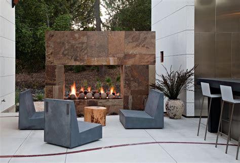 Saratoga Fireplace interior design ideas architecture modern design