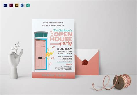 Free Open House Templates by 22 Open House Invitation Templates Free Sle Exle