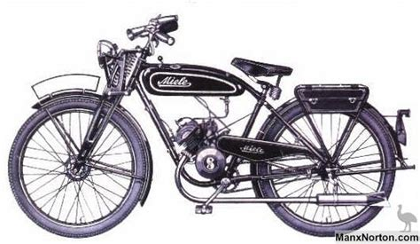 Sachs Motorrad 1930 by Miele Moped 1938