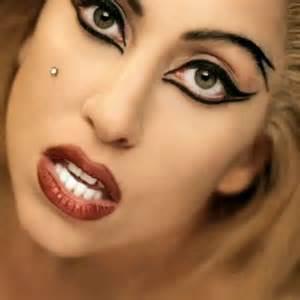 gaga eye color gaga eye makeup hair and