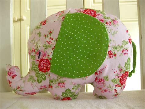 Handmade Elephant - elephant elephant cushion handmade with designer