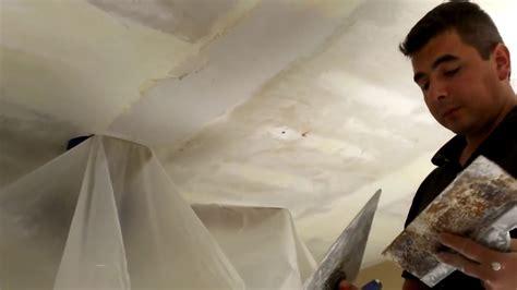Sheetrock Ceiling by Como Remover Textura O Tirol De Los Cielorrasos Youtube