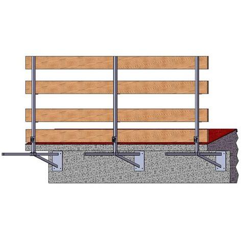 Scale A Mensola Parapetto Di Sicurezza A Mensola Per Tetto H 150 Tutto