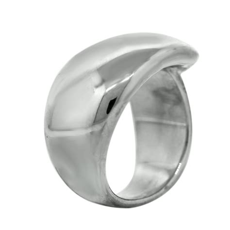 chanel sterling silver crossover ring boca raton