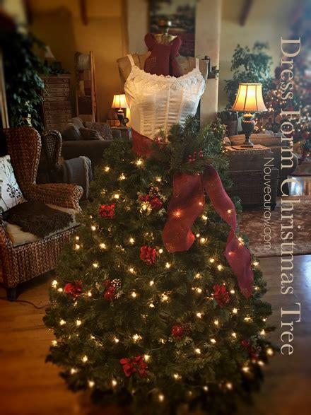 best way to dress a christmas tree free how to create a dress form tree