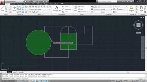 Printable Area Autocad | how to calculate the area in autocad youtube