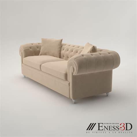 fendi sofa pro fendi albione sofa 3d model max obj fbx cgtrader com