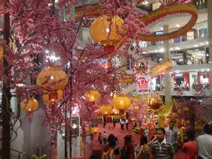 awesome chinese new year 2012 decoration at pavilion kl