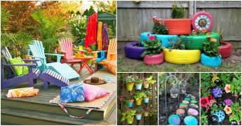colorful outdoor decor ideas you will absolutely love to see