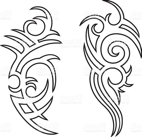 tattoo outline creator best tribal tattoo outlines vector file free