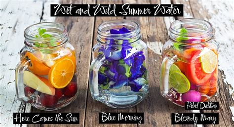 What Fruit Are In Water To Drink And Detox by Health Benefits Of Fruit Infused Water