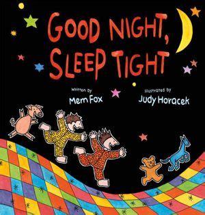 Booktopia Good Night Sleep Tight By Mem Fox