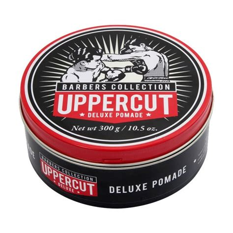 Pomade Barbers uppercut deluxe pomade barber tin 300g salons direct