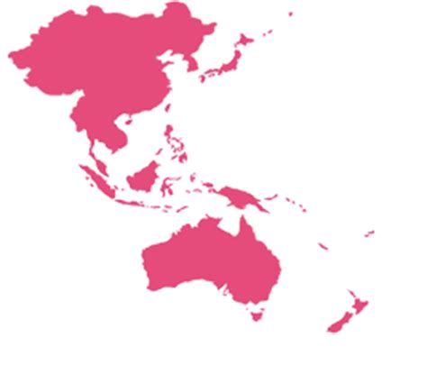 Asia Pacific Region Map Outline by Blank Map Asia Pacific Region