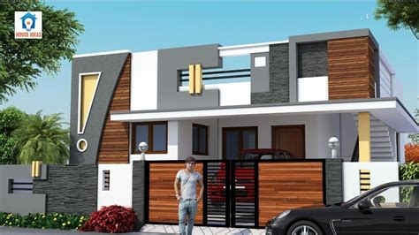 indian single floor house elevation images