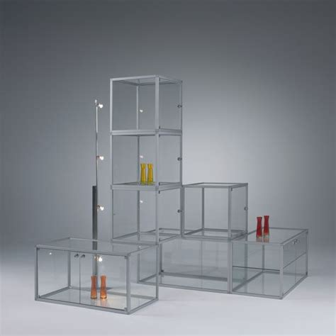 Storage Wall Units by Display Cabinets Abs Alpha B 252 Rosysteme