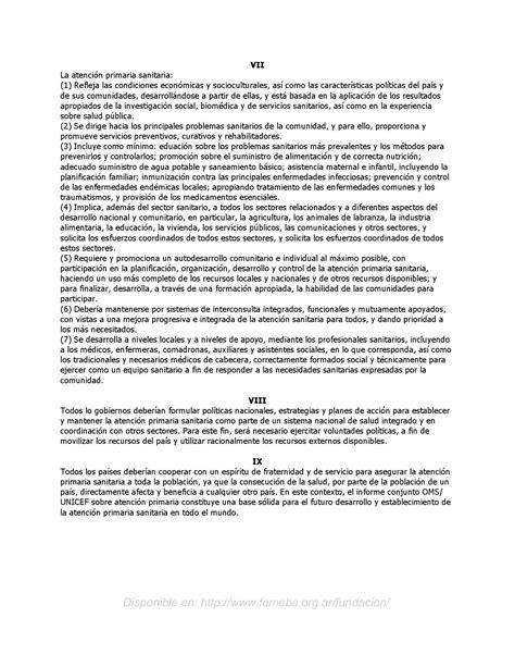 Declaracion de ALMA-MATA de 1978 by Eduardo Filgueira Lima