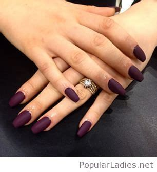 wine colored nails wine colored nails