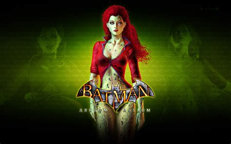 batman arkham asylum ivy wallpaper poison ivy wallpaper