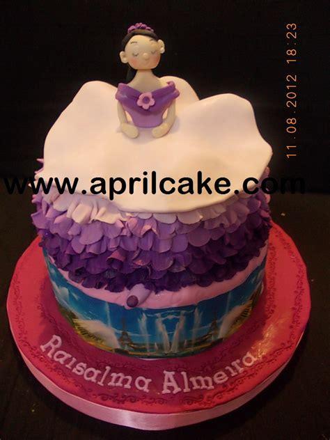Eiffel Wedding Cake Jakarta by Balerina And Eiffel Cake Salma April Cake