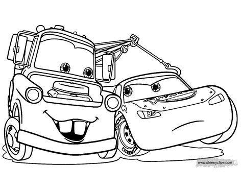 coloring pages of cars awesome coloring pages disney mater gallery printable