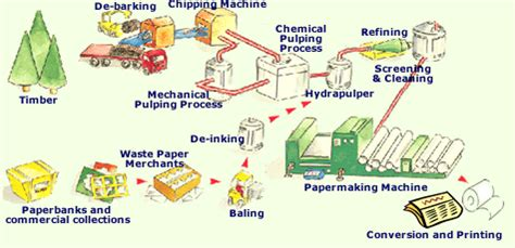 Process Of Paper - papermaking process
