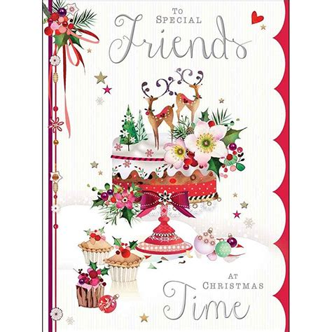Christmas Gift Card Specials - christmas card jj8886 special friends christmas cakes at christmas time