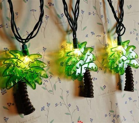palm tree string lights unique decorative string light for holidays home designing