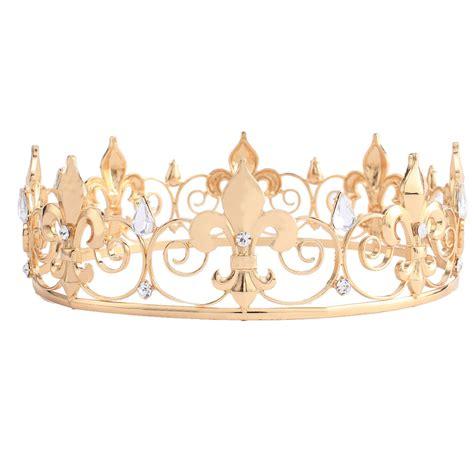 king crown design in hair cut aliexpress com buy adult royal crown king queen full