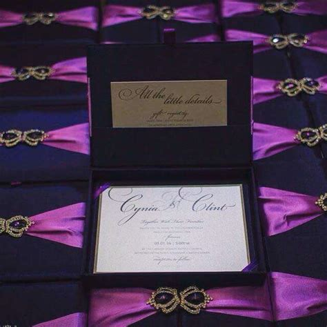purple wedding invitations boxes purple violet hinged lid invitation box with crown