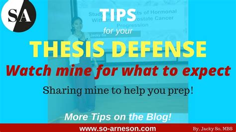 thesis defense translation deutsch what to expect at your thesis defense real exle by