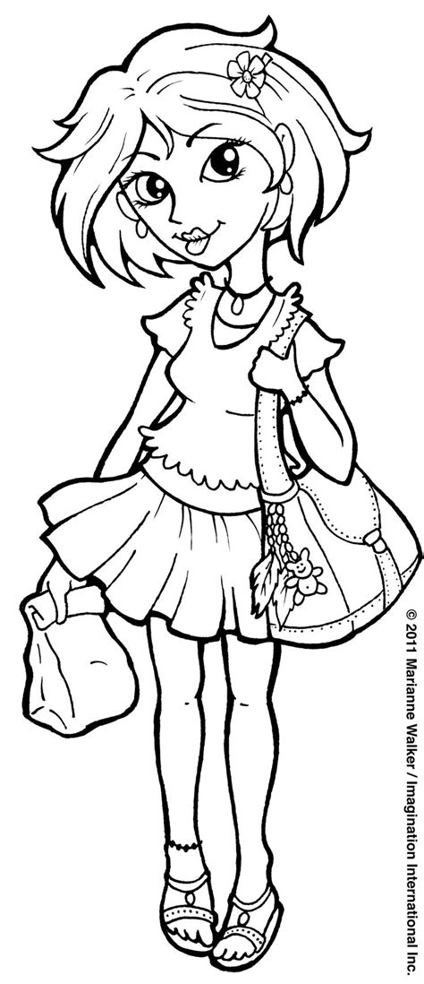 all copic marker colors coloring pages